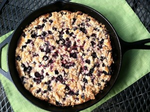 Blueberry-Nectarine Buckle