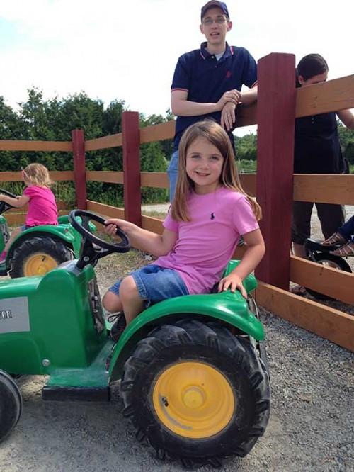 Farmer Mark's tractor training course in Tyngsboro MA-030