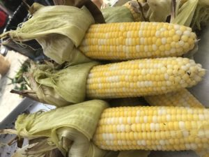 Non-GMO Roasted Corn at Parlee Farms!
