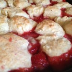 Skillet Strawberry Shortcake