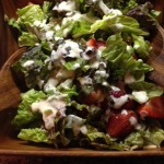 Strawberry Chevre Salad