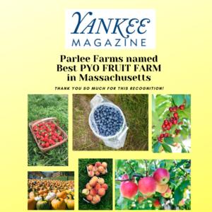 Parlee Farms Best PYO Fruit Farm